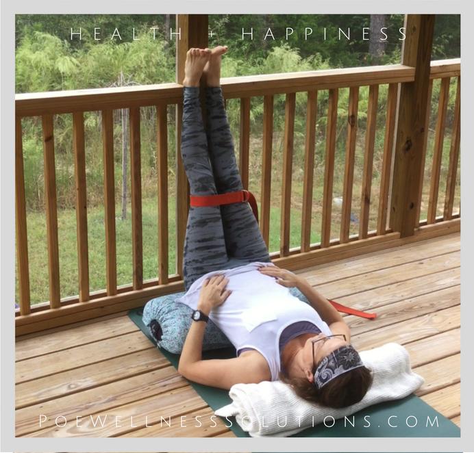Yin Yoga With Poe Wellness Solutions and the Coaching Yogi