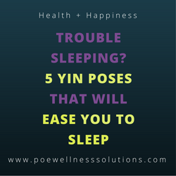 Trouble Sleeping? 5 Yin Poses That Will Ease You To Sleep