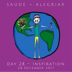 Health + Happiness Around the World ~ Day 28 Inspiration