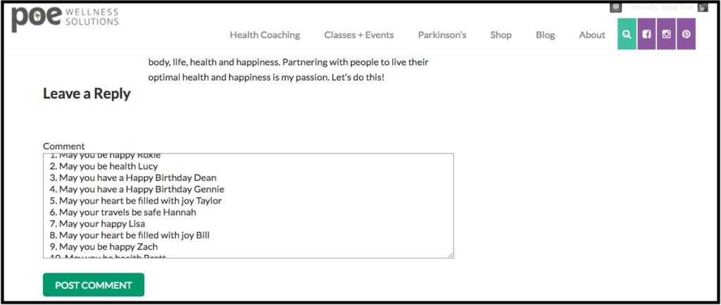 Poe Wellness Solutions, The Coaching Yogi
