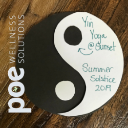 Yin Yoga at Sunset ~ Summer Solstice 2019
