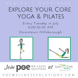 Poe Wellness Solutions, The Coaching Yogi, Santosha Space Series
