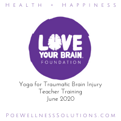 Love Your Brain Yoga Teacher Training June 2020